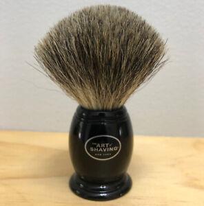 The Art of Shaving Pure Badger Shaving Brush USED