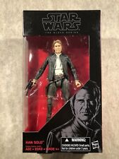 Star Wars The Black Series 18: Han Solo 6? Action Figure 2015