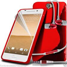 Étuis, housses et coques rouge HTC One S en silicone, caoutchouc, gel pour téléphone mobile et assistant personnel (PDA)