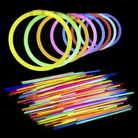 Lumistick Authentic Brand 300 Pack 8 Inch Glow Sticks with Connectors for Lig...