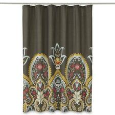 Cannon Global Medallion Paisley Floral Fabric Shower Curtain - Multi