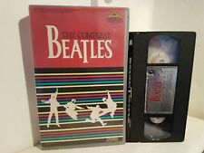 The Complete Beatles   - Vhs - MGM-  Big Box