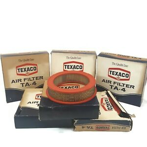 Texaco TA-4 NOS Air Filter 1958-1962 Ford Edsel Mercury Lincoln USA Made Lot