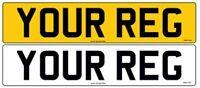 STANDARD MOT UK Road Legal Car Van Trailer Reg Registration Number Plates