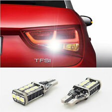 2x Error FreeT15 W16W LED CANBUS 921 912 Car Backup Reverse Light bulbs for Audi