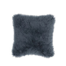IKEA GULLVIVA - Cushion Cover Gray Faux Fur 20 x 20 ""