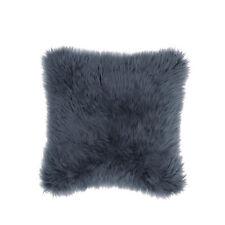 "IKEA GULLVIVA - Cushion Cover Gray Faux Fur 20 x 20 """