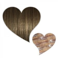 sans soudure Extension Clip Cheveux véritables 190-g-set 50 cm Marron Cendré
