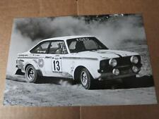 FORD - ESCORT mk2 RS1800 RS 1800 Rally Car - PRESS MEDIA PHOTOGRAPH
