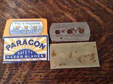 Vintage PARAGON Razor Blade. Escape & Evasion Compass WW11