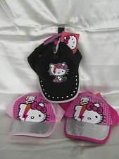 Abbigliamento e accessori neri Hello Kitty per bambini dai 2 ai 16 anni