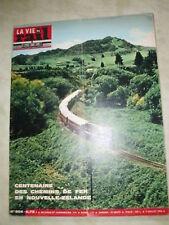 vie du rail 1964 954 VERNEUIL VIENNE GéRARDMER REMIREMONT NEW ZEALAND RAILWAYS