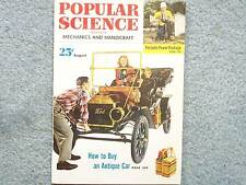 1952 Popular Science August Portable Power Package How To Buy An Antique Car