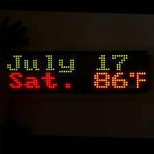 3216 30X16 Bicolor Red & Green LED 5mm Dot Matrix Information Display Board