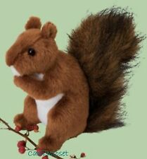 "Douglas Roadie RED SQUIRREL 6"" Plush Stuffed Animal Realistic Cuddle Toy NEW"
