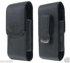 Leather Case Pouch for Verizon / US Cellular Samsung Intensity 3 U485, Gem i100