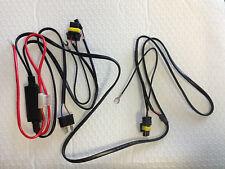 H4 H4-3 HID Loom Harness Hi/Lo Wiring Kit Inline Module 12V 35W 55W Zenon