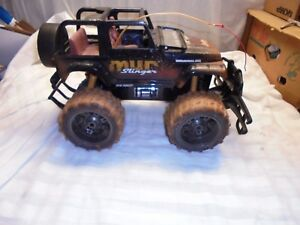 """New Bright Jeep Wrangler Rubicon Mud Slinger RC 19"""" Long Total"""