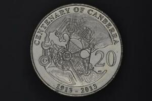 Australia - 2013 - 20c - Centenary of Canberra - KM2080 - Uncirculated