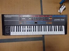 Vintage Analog Synthesizer Roland Juno 106 6 60 rare synth