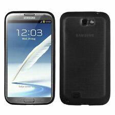 Smoke Horizontal Strips TPU Rubber Case For Samsung Galaxy Note II N7100