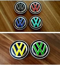 VW Golf 7 GTD GTI R moyeu jantes Couvercle Autocollant Sticker Film Tuning