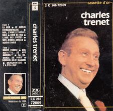 """K 7 AUDIO (TAPE) CHARLES TRENET """"LA CASSETTE D'OR"""""""