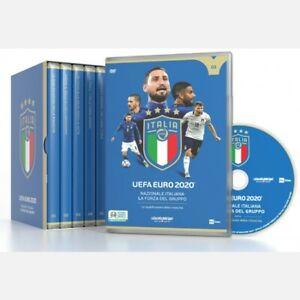OPERA COMPLETA FULL BOX 5 DVD ITALIA CAMPIONE D'EUROPA 2021 GAZZETTA EURO 2020