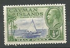 Territory George V (1910-1936) Caymanian Stamps