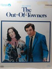 Video Disc Neil Simons The Out-Of-Towners Staring Jack Lemmon 1969 CED