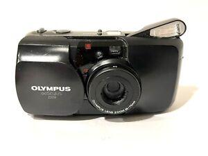Olympus Infinity Stylus Zoom 35mm Film Camera 35-70mm Zoom Weatherproof Black