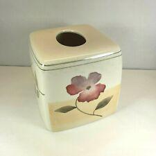 Floral Ceramic Tissue Cover