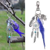 Dream Catcher Feather Hamsa Hand Key Chain Handbag Keyring Ring Keychain Keyfob
