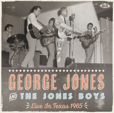 out 30th April 2018 - George Jones Live in Texas 1965 - CDCH 1522