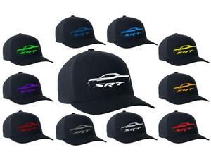 Dodge Challenger SRT Logo Color Outline Design Hat Cap NEW