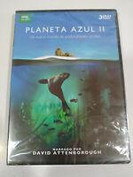 Planet azul II David Attenborough BBC - 3 X DVD Espagnol Anglais Neuf 3T