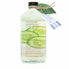 The Cottage Greenhouse - Cucumber & Honey Bubble Bath