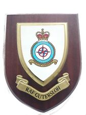 RAF Station Gutersloh Wall Plaque Royal Air Force Hand Made For MOD
