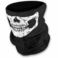 Motorcycle Skull Balaclava face mask black ski cycling thermal neck warmer bike