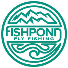 Fishpond Thermal Die Cut Sticker- Headwaters