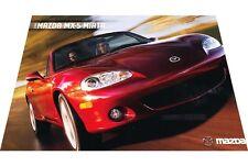 2003 Mazda Mx-5 Miata Mx5 1-page Original Car Sales Brochure Card