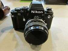 Nikon F3HP 35mm Film Camera - Black - Nikkor 55mm 1:3.5 Lens - FREE SHIPPING