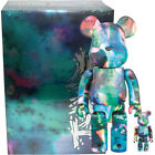 Medicom Be@rbrick Bearbrick Pushead Blue Water 100% & 400% Set Figure