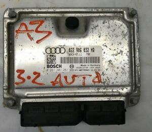 GENUINE 2005-2008 AUDI A3 DSG AUTO ECU ENGINE CONTROL UNIT MANAGENT 022906032HQ