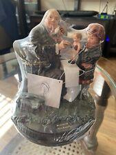 "Norman Rockwell Figurine Doll Doctor Little Girl - 7"" High"