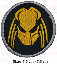 Predator alien movie badge  Iron Sew On Embroidered Patch