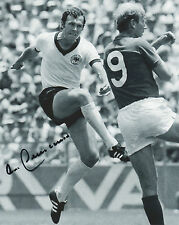 FRANZ BECKENBAUER Signed 10x8 Photo GERMANY World Cup LEGEND COA