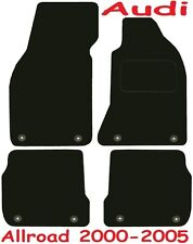 Deluxe Quality Car Mats for Audi A6 Allroad 99-05 ** Tailored for Perfect fit ;)