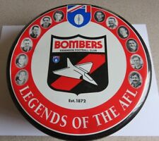 Essendon Bombers Legends Of The AFL Commemorative Fruit Cake Tin