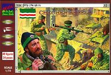 Orion Models 1/72 CHECHEN REBELS Figure Set
